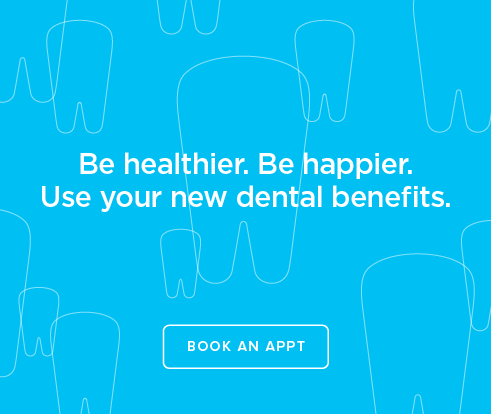 Be Heathier, Be Happier. Use your new dental benefits. - Cottonwood Modern Dentistry and Orthodontics