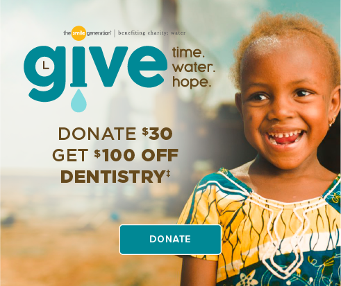 Donate $30, Get $100 Off Dentistry - Cottonwood Modern Dentistry and Orthodontics