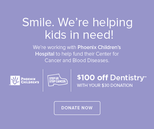 Cottonwood Modern Dentistry and Orthodontics- We're working withPhoenix Children's Hospital to help fund their Center for Cancer and Blood Disease